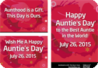 Auntie's Day 2015 Posters and eCards
