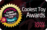 MELANIE NOTKIN ANNOUNCES THE 2018 SAVVY AUNTIE COOLEST TOY AWARDS