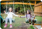 Want to Help Siblings Cooperate? Science Says Swing!