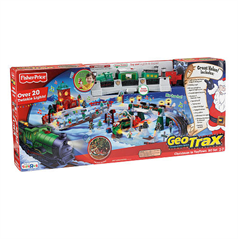 Fisher-Price GeoTrax Christmas Train - Nephew and Niece Gifts ...