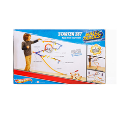 Hot wheels wall tracks starter set nephew and niece for Hot wheels wall tracks template