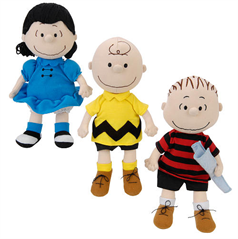 Charlie Brown Lucy and Linus  Peanuts Doll Collection  Nephew