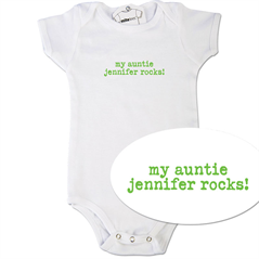 My Aunt Or Uncle Rocks Onesie Nephew And Niece Gifts