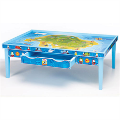 Thomas u0026 Friends Wooden Railway Grow-With-Me Play Table  sc 1 st  Savvy Auntie & Thomas u0026 Friends Wooden Railway Grow-With-Me Play Table - Nephew and ...
