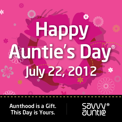 Happy Auntie's Day July 22 2012